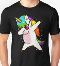 Tupfen-Unicorn-Tupfen-Tanz Unisex T-Shirt