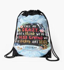 Lila Bard Drawstring Bag