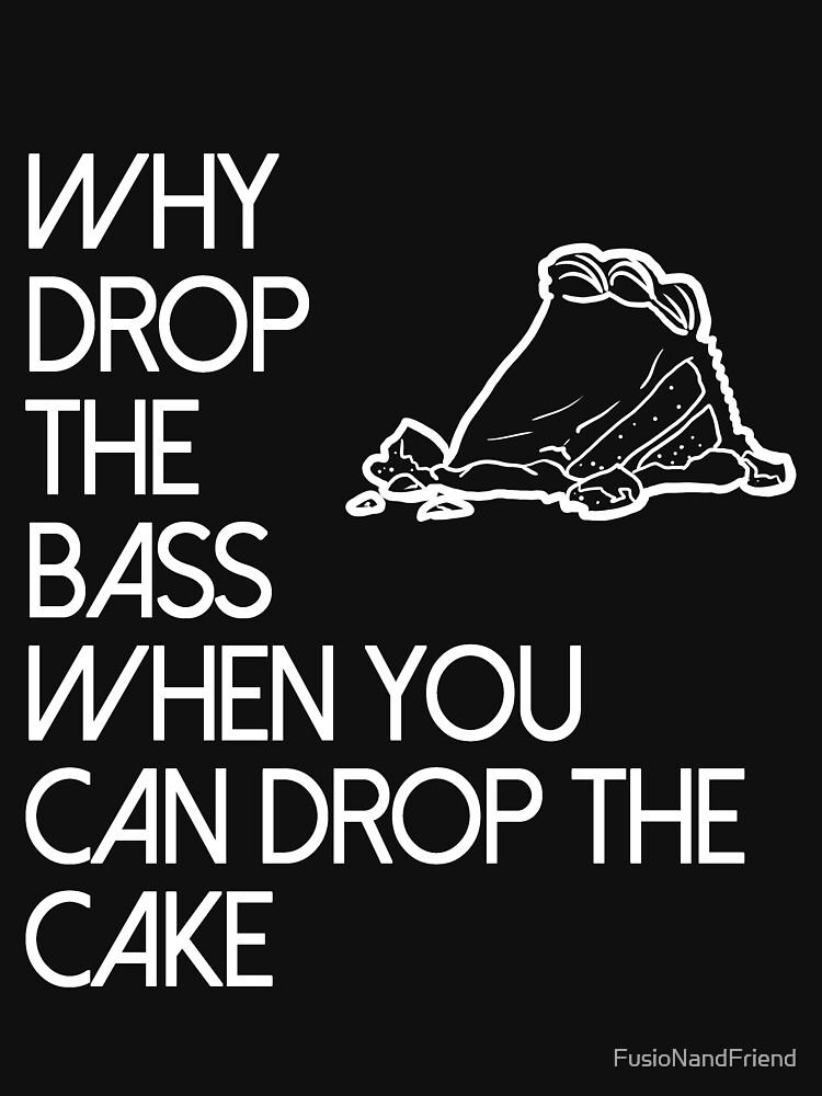 Suelta el pastel. de FusioNandFriend