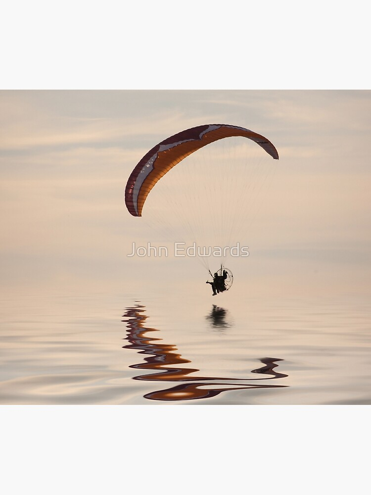 Powered paraglider by JohnE