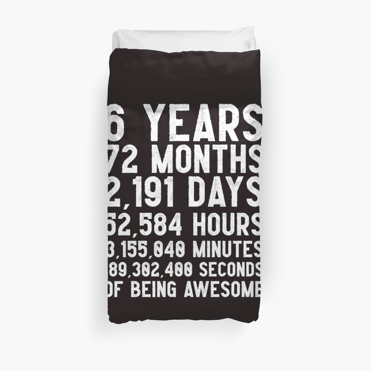 6th Birthday Countdown T Shirt Funny Gift For 6 Year Olds