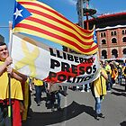 Llibertat Presos Politics march, Barcelona by David Fowler
