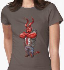 Luzifer Senior Tailliertes T-Shirt für Frauen