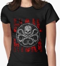 Hail Hydra. Women's Fitted T-Shirt