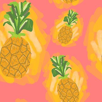 Ode to Ananas/Pineapple by prienjo