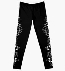 Cheeky Witch Pretty Pentacle Design Wiccan Leggings Leggings