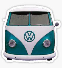 Split window bus Sticker