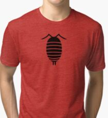 Bugs: abstract Isopod Tri-blend T-Shirt
