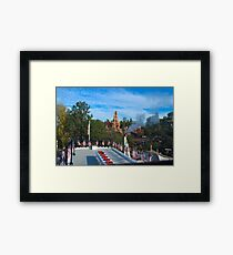 Mark Twain and Big Thunder Framed Print