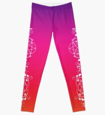 Pretty Pentacle Wiccan Leggings by Cheeky Witch  Leggings
