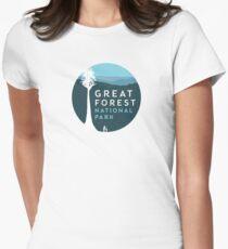 GFNP Logo Womens Fitted T-Shirt