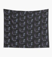 antlers (black) Wall Tapestry