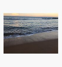 Beautiful clear water at Collaroy Beach, NSW, Australia  Photographic Print