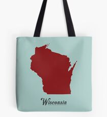 Wisconsin - States of the Union Tote Bag