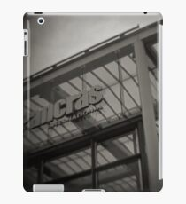 Fine Art Photograph Made With Toy Camera - St Pancras Station, London iPad Case/Skin