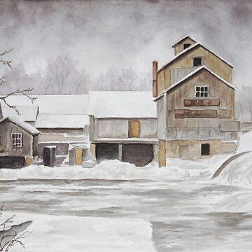 Chisholm Lumber Mill by jenofuto