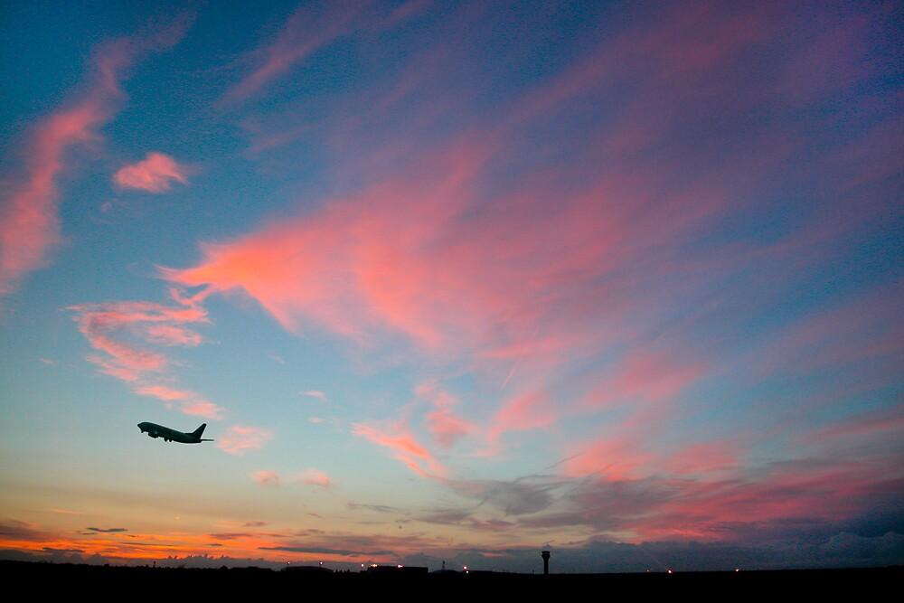 Evening Departure by Geoff Spivey