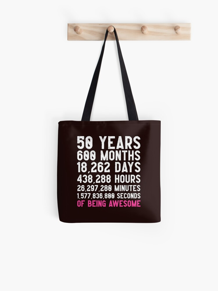 Womens 50th Birthday Countdown T Shirt Funny Gift 50 Year Olds