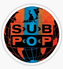 Sub Pop Records Sticker