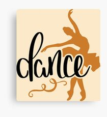 The Purity of Dance Canvas Print