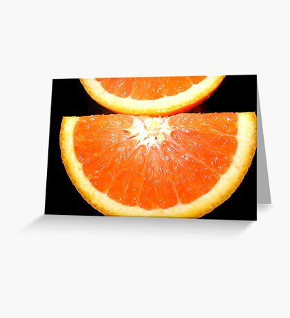 SWEET ORANGE Greeting Card