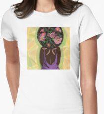 Flower Power Women's Fitted T-Shirt