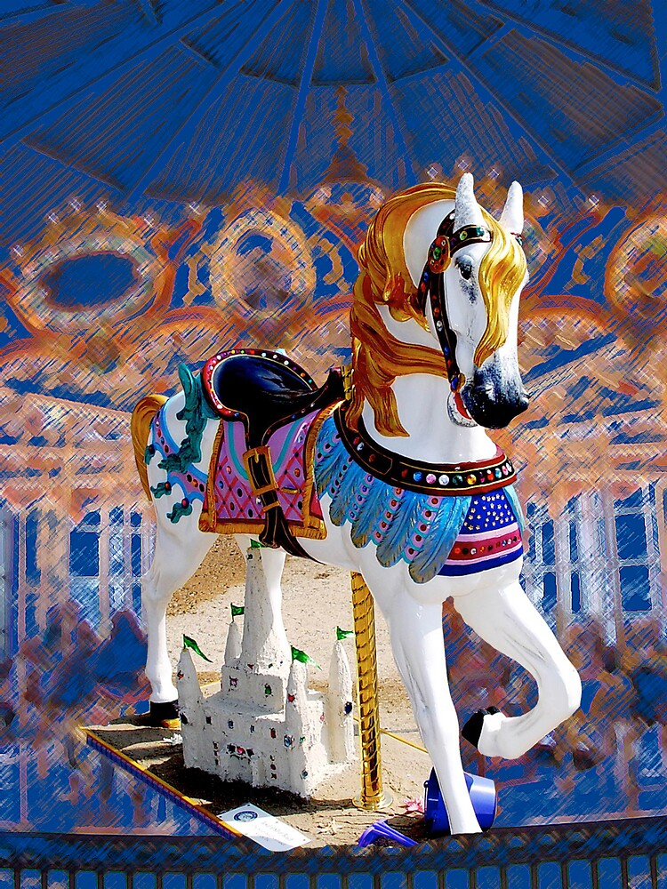 Carousel Wonderland by Dennis Burlingham