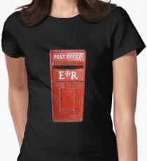 Post Office Box, Post, old, Antigua, Caribbean Women's Fitted T-Shirt