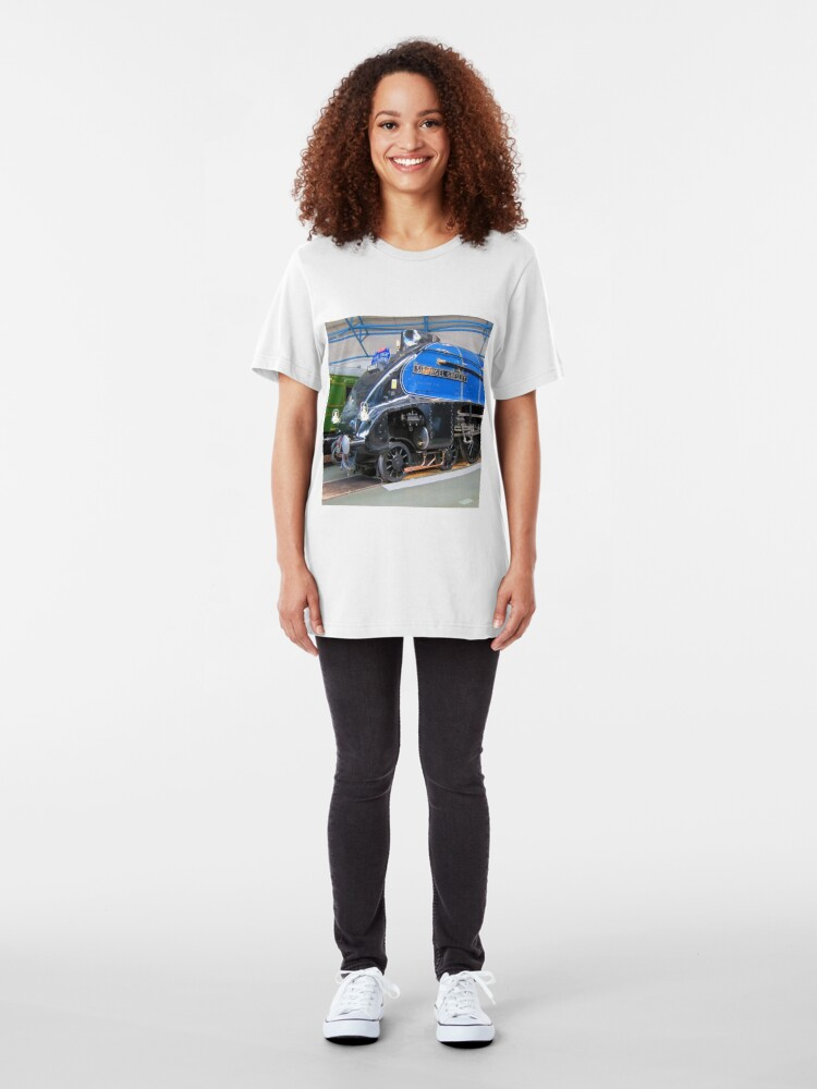 Alternate view of Sir Nigel Gresley Slim Fit T-Shirt