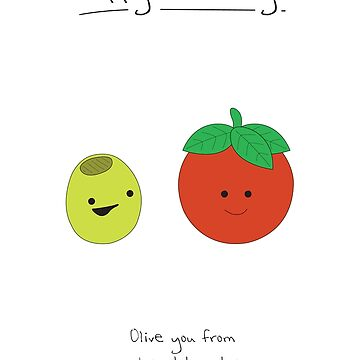 Birthday Card - Olive and Tomato by maxhornewood