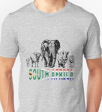 Africa's Big Five for South Africa Fans Unisex T-Shirt