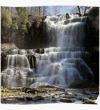 Spring Flow - Chittenango Falls Poster