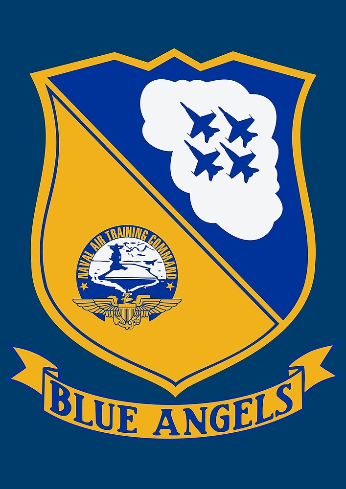 Blue Angels - United States Navy by wordwidesymbols