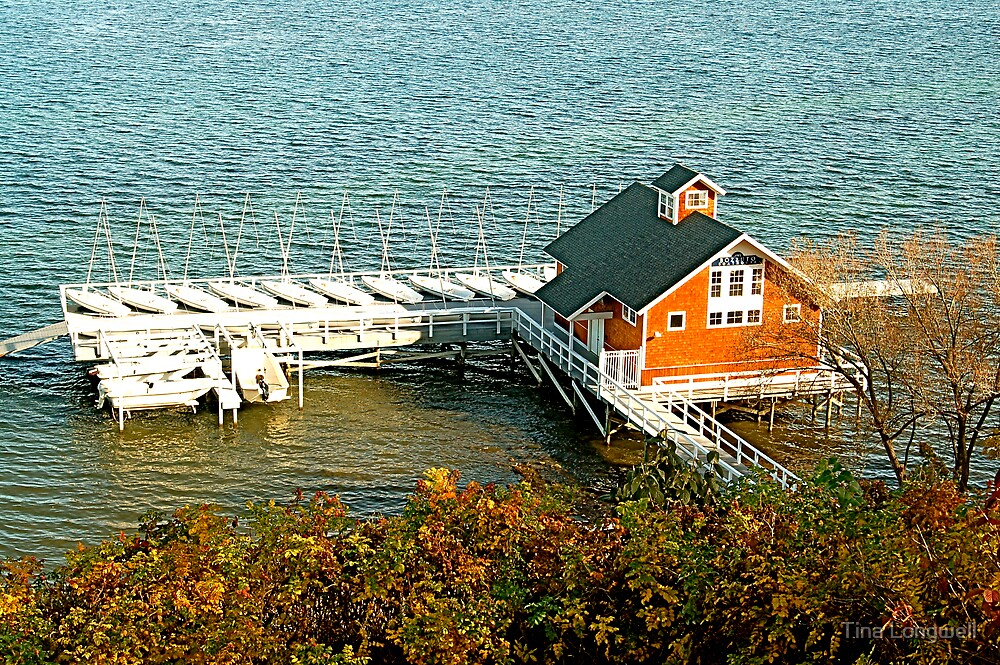 The Boat House by Tina Longwell