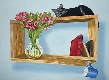 Muse on an Intriguing Shelf