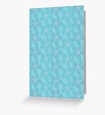 Swirling Starfish Greeting Card