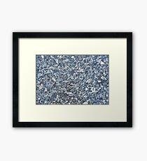 Granite Framed Print