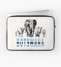 Africa's Big Five for Botswana Fans Laptop Sleeve