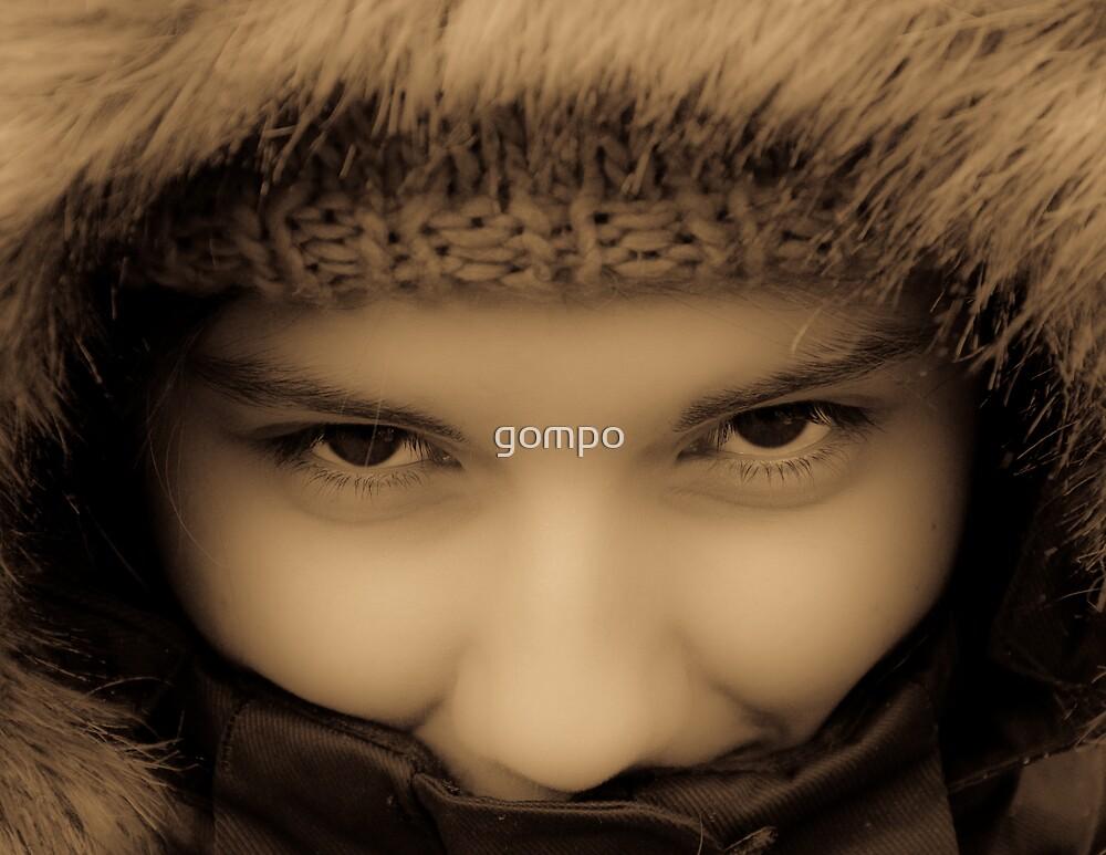 warm eyes by gompo
