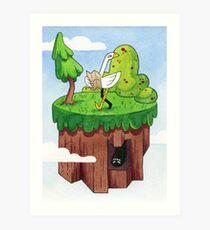 Paradise - Green Art Print