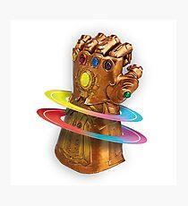 Infinity Gauntlet Photographic Print