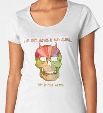 It was aliens Women's Premium T-Shirt