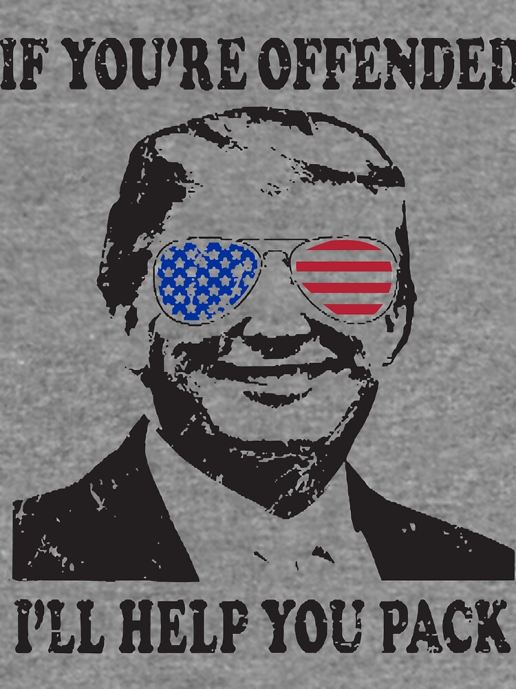 191b59dc Donald Trump President Funny Political Mens If Offended Trump T-Shirts by  MelinaNuc1