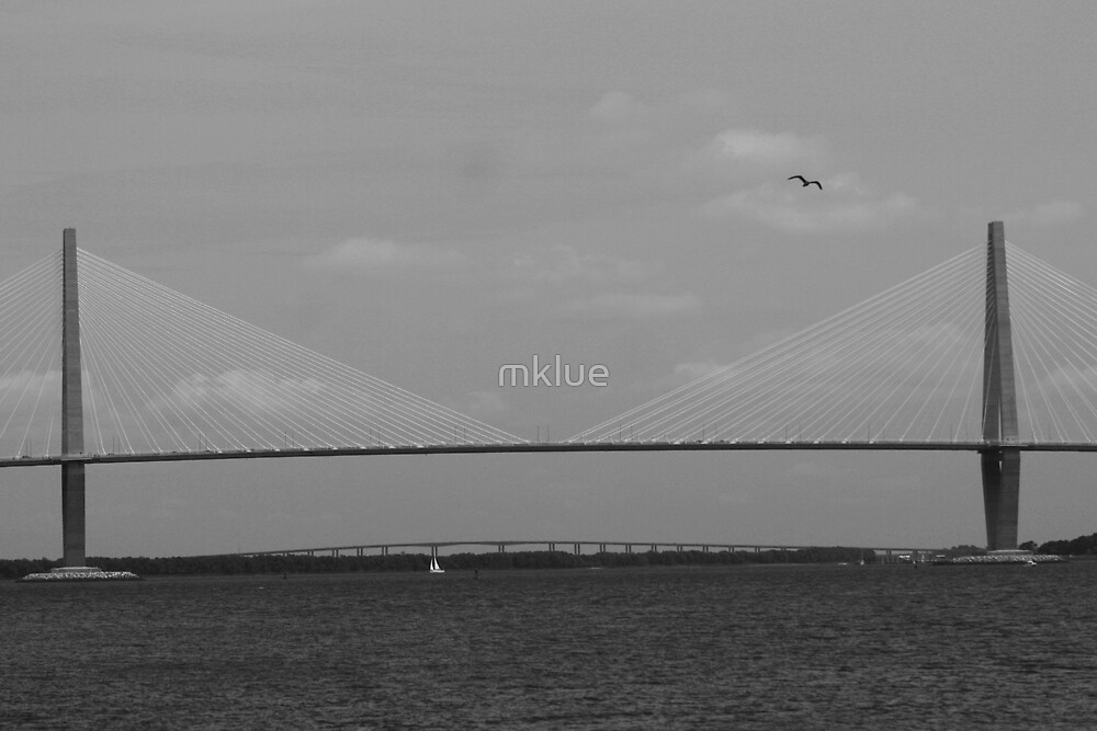Cooper River Bridge by mklue