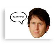 todd howard it just works posters by graphictease redbubble