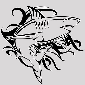 Tribal Shark 2 by livesintheboonies