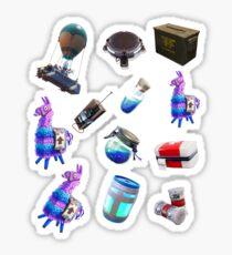 Fortnite items sticker pack Sticker