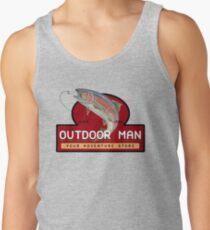 Outdoor Man Mug, Shirts etc. (Last Man Standing) Tank Top