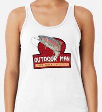 Outdoor Man Mug, Shirts etc. (Last Man Standing) Racerback Tank Top
