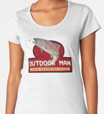 Outdoor Man Mug, Shirts etc. (Last Man Standing) Women's Premium T-Shirt
